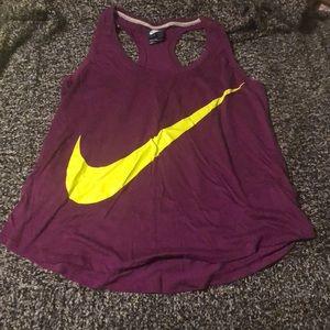 Women's Nike workout shirt